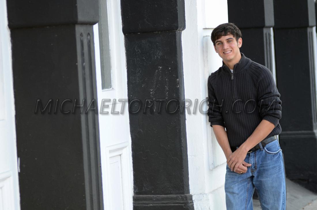 Donaldsonville, Louisiana high school senior portrait photographer Michael Tortorich