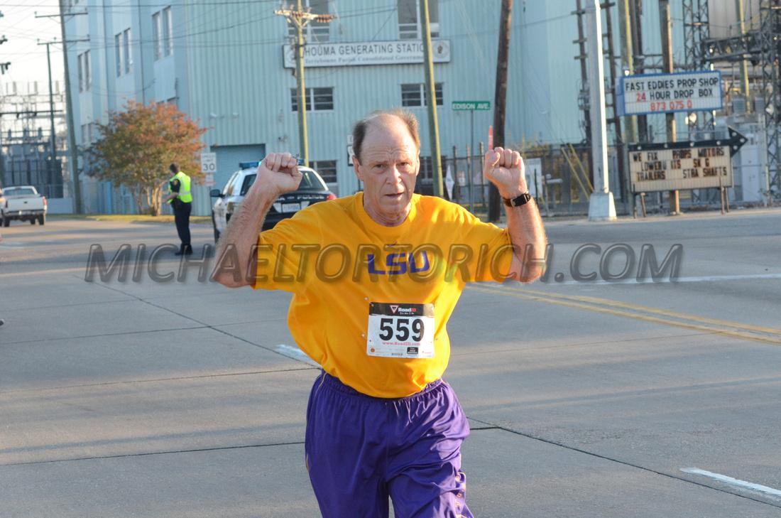 Louisiana runners Houma Louisiana Michael Tortorich