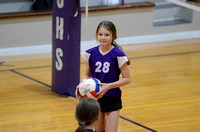 Ascension Catholic Middle School Volleyball {Photos by Michael Tortorich}