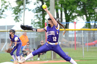 Ascension Catholic vs. E.D. White High School Softball 2021 {Photographer Michael Tortorich}