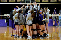 Ascension Catholic vs. Central Private High School Volleyball Playoffs 2020 {Michael Tortorich}