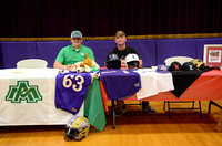 Ascension Catholic High School Signing Day {Jacob Dunn - BRCC; Owen Smith - Arkansas Monticello}