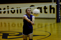 Ascension Catholic Middle School Volleyball {Photographer Michael Tortorich}