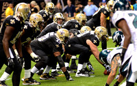 New Orleans Saints vs. Philadelphia Eagles (2012 NFL football) {Baton Rouge photographer Michael Tortorich}