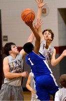 E.D. White vs. West Thibodaux basketball {Thibodaux photographer Michael Tortorich}