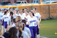 Ascension Catholic vs. Ascension Christian softball {Donaldsonville photographer Michael Tortorich}