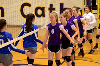 Ascension Catholic Middle School Volleyball 2016