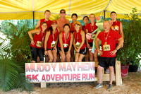 {GROUP SHOTS} Muddy Mayhem Louisiana | 5K Obstacle Adventure | Denham Springs, Louisiana