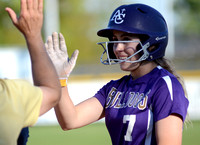 Ascension Catholic v. Ascension Christian High School Softball 2018 {Photographer Michael Tortorich}