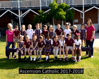 Ascension Catholic School 2017-2018 Spring Class Photos Pre-K-8th {Photographer Michael Tortorich}