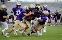 Ascension Catholic vs. Northlake Christian high school scrimmage 2018 {Photos: Michael Tortorich}