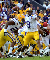 LSU vs. Arkansas football