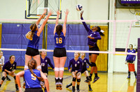 Ascension Catholic vs. East Ascension volleyball {Sports Photographer Michael Tortorich}
