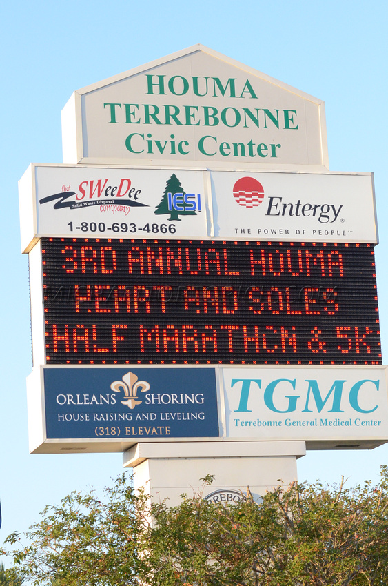 houma heart and soles 5K half marathon