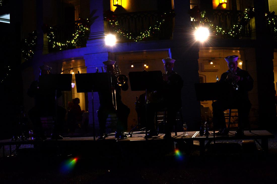 Band at Nottoway Plantation