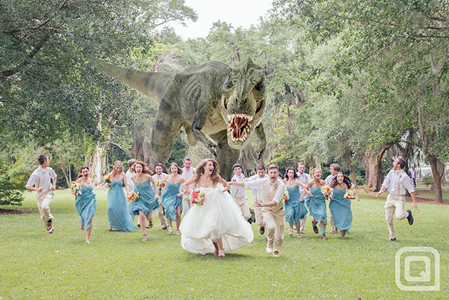 Who invited the T. Rex to the wedding?
