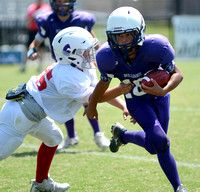 Ascension Catholic Middle School Football Jamboree 2017 {Photographer Michael Tortorich}
