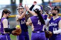 Ascension Catholic vs. H.L. Bourgeois High School Softball 2018 {Photographer Michael Tortorich}