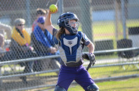 Ascension Catholic vs. Lutcher Middle School Softball 2018 {Photographer Michael Tortorich}