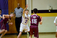 Ascension Catholic vs. Most Blessed Sacrament Middle School Boys Basketball {Michael Tortorich}