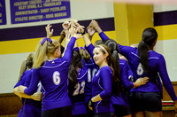 Ascension Catholic vs. Central Catholic high school volleyball {Photographer Michael Tortorich}