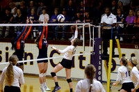 Ascension Catholic vs. Ascension Christian High Volleyball 2017 {Photographer Michael Tortorich}