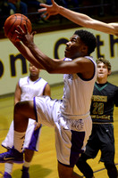 Ascension Catholic vs. French Settlement high school basketball {Photographer Michael Tortorich}