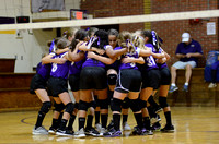 Ascension Catholic vs. Holy Family Middle School Volleyball 2018 {Photographer Michael Tortorich}