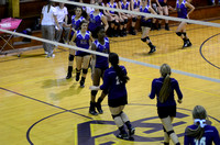 Ascension Catholic vs. Dutchtown high school volleyball {Sports Photographer Michael Tortorich}