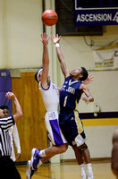 Ascension Catholic vs. St. John High School Basketball 2018 {Photographer Michael Tortorich}
