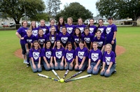 Ascension Catholic Middle School Softball 2017 {Photographer Michael Tortorich}